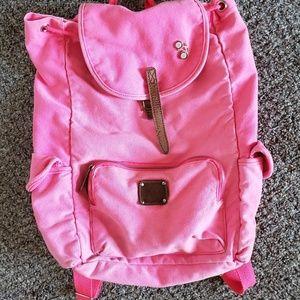 Victoria's Secret PINK Hot Pink Canvas Backpack